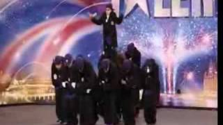 Insane Street Dance by Diversity -  Britains Got Talent 09