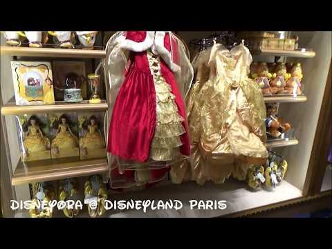Disneyland Paris Newport Bay Hotel Bay Boutique Shop walkthrough 2017 DisneyOpa