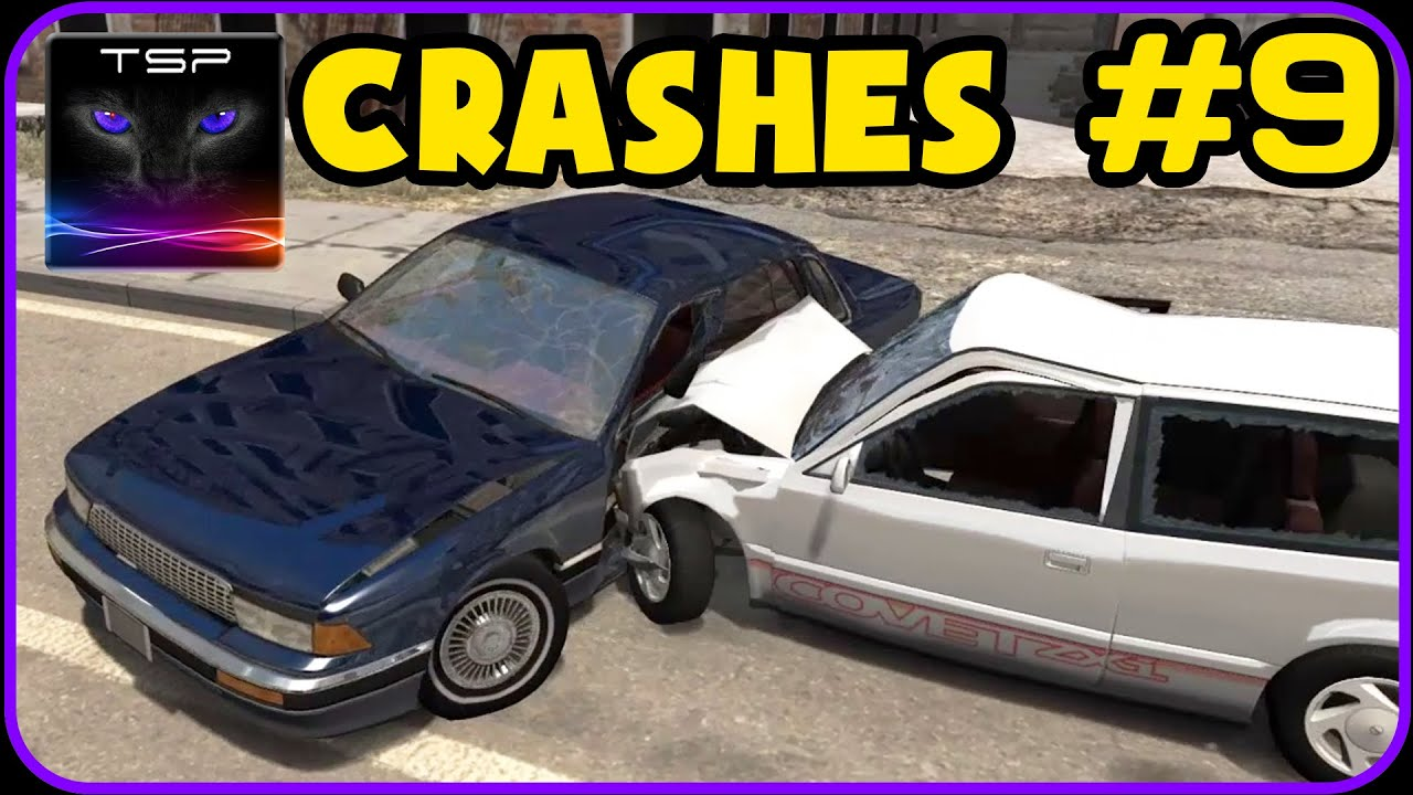 Beamng Drive Car Crash Compilation 9 Youtube