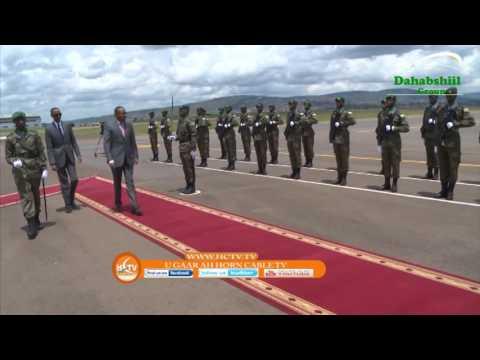 Ray'sal Wasaaraha Dalka Itoobiya Oo Socodaalku Tagay Dalka Rwanda