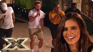 Rak-Su impresses Cheryl at Simon Cowell's House | The X Factor UK