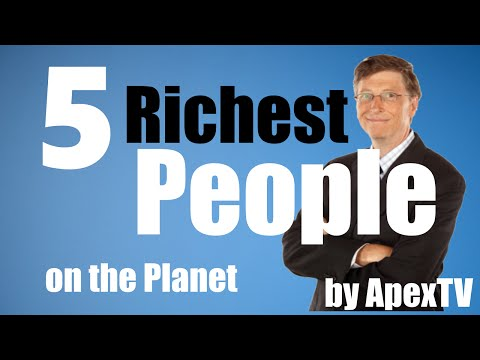 5 Richest People on the Planet