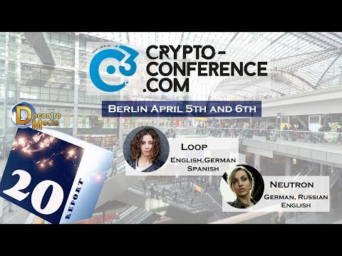 C3 Crypto-Conference Berlin: Decentro Media Partnership for this cryptocurrency conference