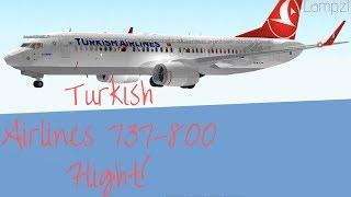 ROBLOX | Turkish Airlines | Boeing 737-800 Flight