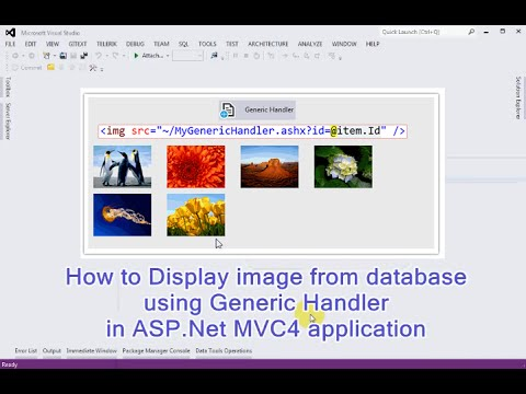 How to Display image from database using Generic Handler in ASP.Net MVC4 application
