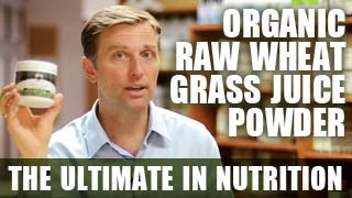 Organic Raw Wheat Grass Juice Powder - The Ultimate in Nutrition