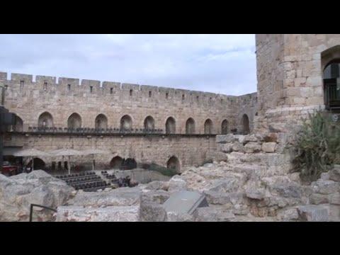 Fascinating excavation finds at Jerusalem's Tower of David