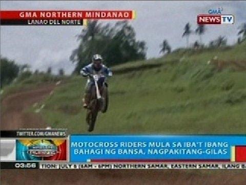 Motocross riders mula sa iba't ibang bahagi ng bansa, nagpakitang-gilas sa Lanao del Norte