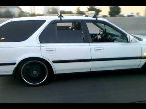 Doug S 91 Honda Accord Cb9 Wagon Vegas Baby Youtube