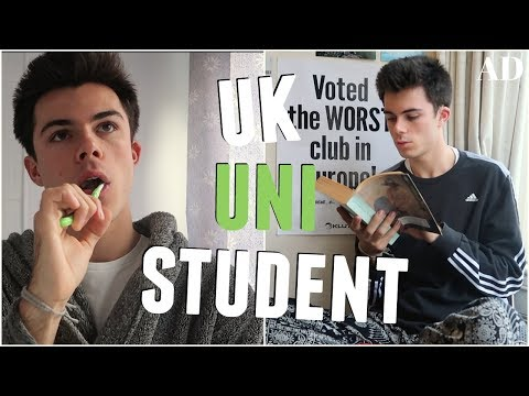 A DAY IN THE LIFE OF A UK UNIVERSITY STUDENT | AD | Jack Edwards