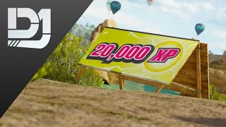 Forza Horizon 3 - All 100 XP Bonus Boards Location Guide
