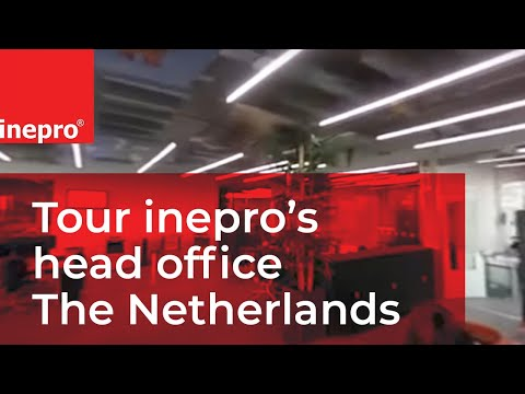 Tour inepro's head office The Netherlands