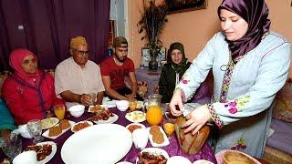حطات الطبسيل خاوي? فطور ثامن يوم رمضان مع ماجدة المراكشية
