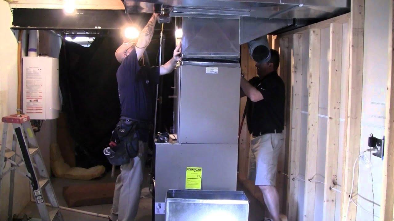 Carrier Infinity Hybrid Heat System Instalation