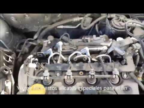 Cambiar bujias de precalentamiento Opel Astra H 1.7 cdti