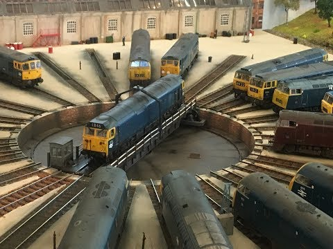 Rail-Ex Taunton model railway Exhibition 27/10/2018