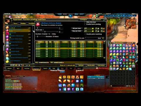 How to use Auctioneer addon in World of Warcraft - Part 1 Appraiser Tab
