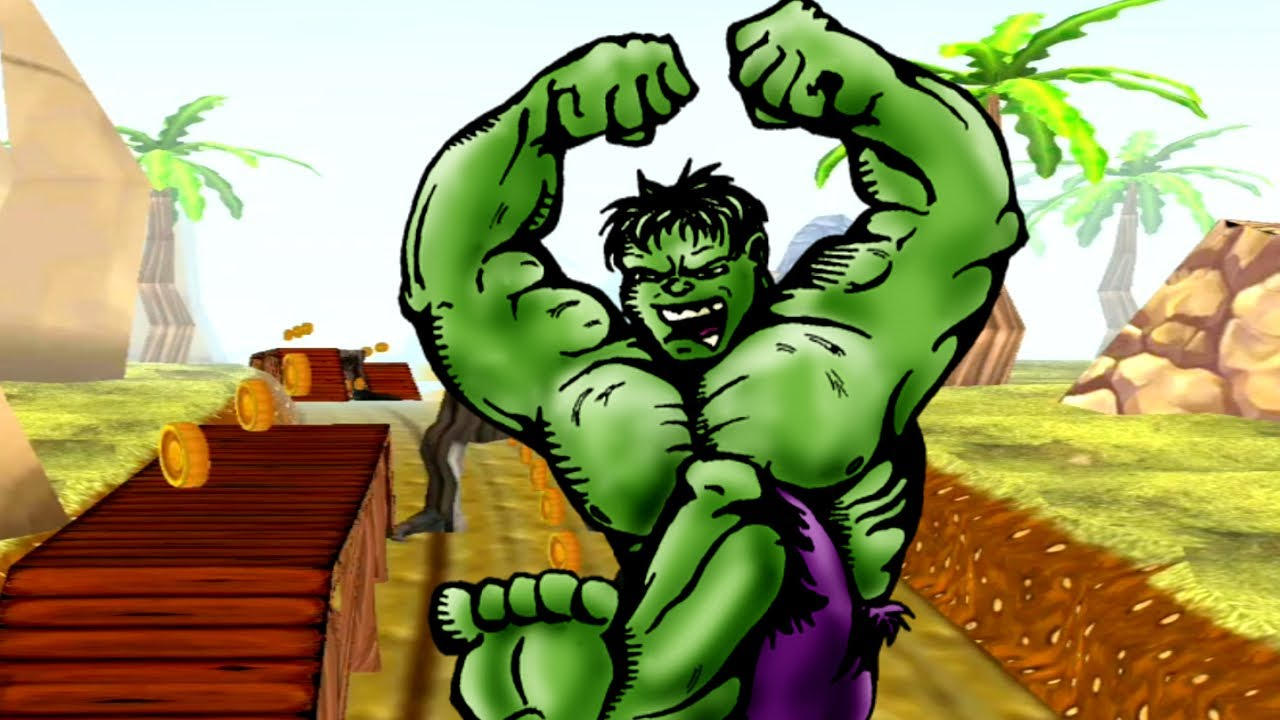 HULK IS ON A MISSION - I LOVE PLAYING HULK GAMES AND I MADE A RECORD