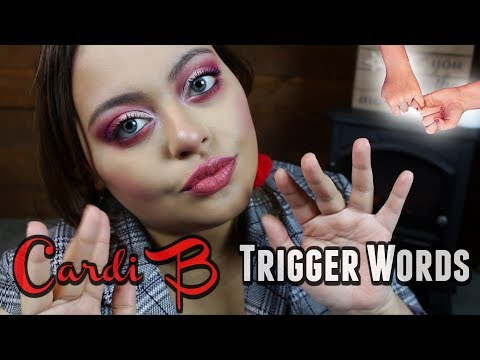 I PINKY SWEAR You WILL Tingle To This | Cardi B Trigger Words & Hand Movements