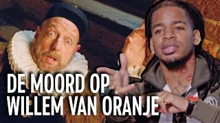 Rapper Keizer vertelt over Willem van Oranje in Drunk History