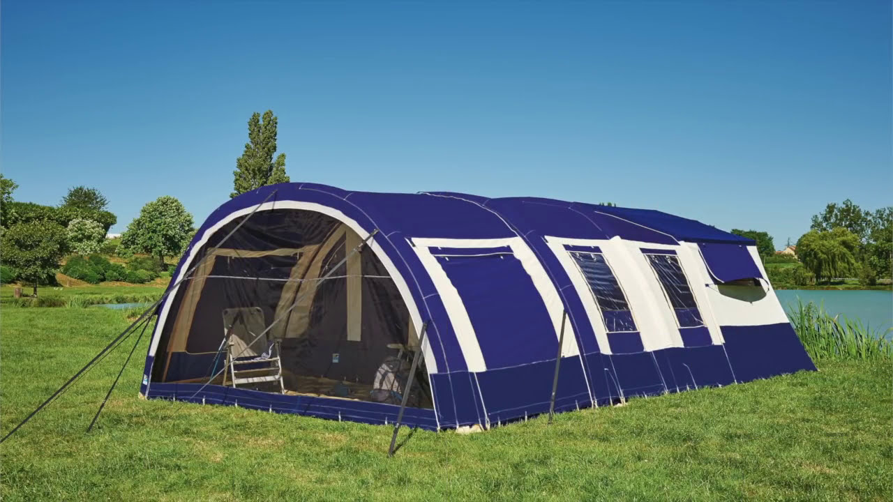 Jamet-AIR - opblaasbare vouwwagen / inflatable trailer tent & Jamet-AIR - opblaasbare vouwwagen / inflatable trailer tent - YouTube