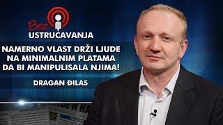 Dragan Đilas - Namerno vlast drži ljude na minimalnim platama da bi manipulisala njima!