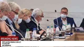 Sprawa sortowni śmieci na XXXIV sesji Rady Miejskiej w Łasku
