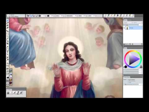 Retouching, Restoration & Painting from Portraits with Corel Painter.mpg