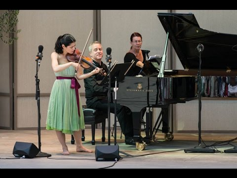 Ojai Music Festival 2014: Saturday morning with Jeremy Denk, Jennifer Frautschi and Hudson Shad