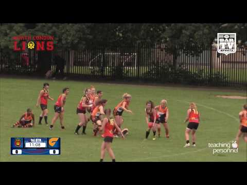 2017 AFL London Women's Premiership Prelim Final - North Lon