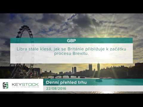 KeyStock Daily Review 22.08.2016 Czech