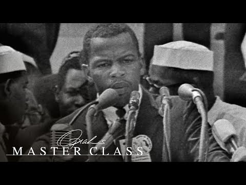 John Lewis' Pivotal 'This Is It' Moment at the March on Washington | Oprah's Master Class | OWN
