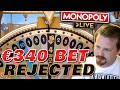 WORST MONOPOLY LIVE SPIN EVER!?