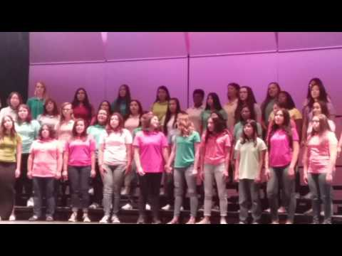 Las Vegas School Choir sings to Ariel