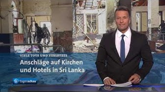Anschläge auf Kirchen und Hotels in Sri Lanka