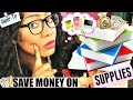 How To Save Money On School Supplies - EASY Tips! | Back to School 2016-2017