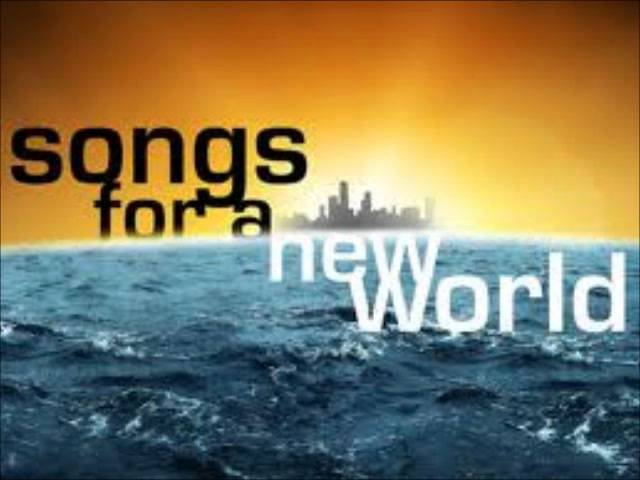 I'm Not Afraid Of Anything Lyrics - Songs For A New World