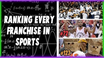 Using Math To Rank Every Team in the Four Major American Sports