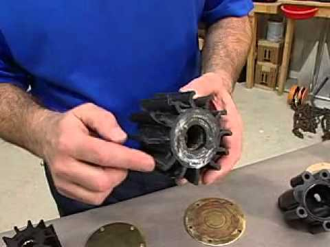 how to change drive belts on volvo penta 430b