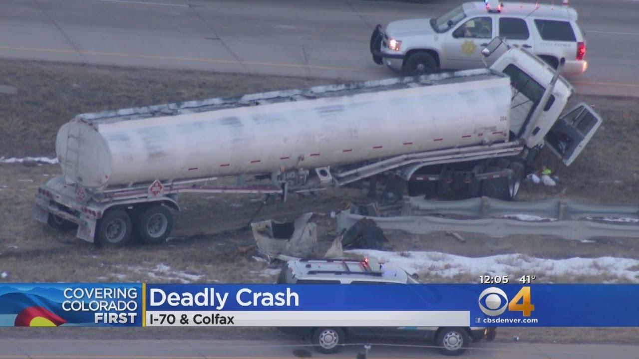 Semi Crushes Sedan In Fatal Wrong Way I-70 Crash