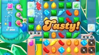 Candy Crush Soda Saga Level 987 (buffed, 3 Stars)