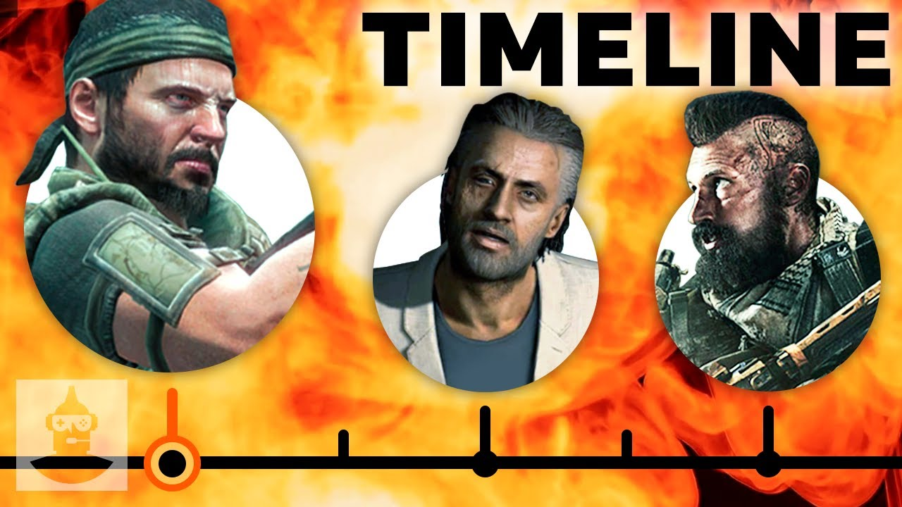 The Complete Call Of Duty Black Ops Timeline - From WAW To Black Ops 3 | The Leaderboard