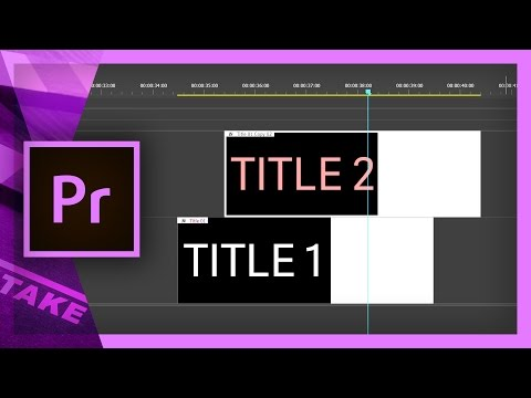 How to Duplicate Text in Premiere Pro | Cinecom net