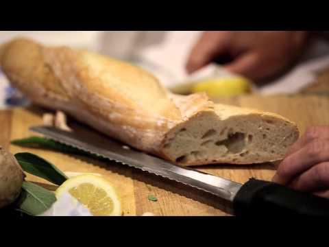Mushroom bruschetta how-to with Aimee Olexy | Anthropologie