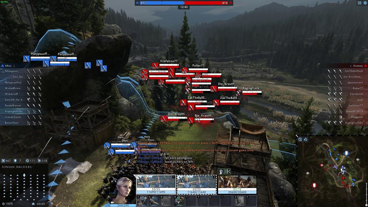 7K GAME - Total War Arena Gameplay (001)