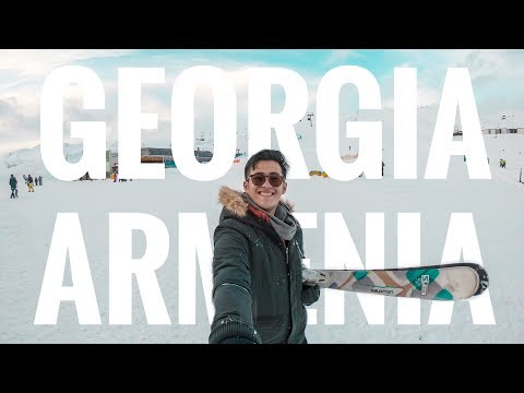 EXPLORING GEORGIA & ARMENIA | FIRST TRAVEL 2018 (HD) | VLOG 1