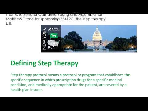 Step Therapy Law in New York – State of Your Health