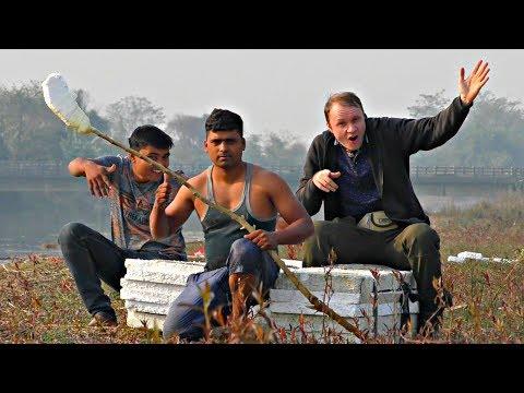 ✅Как ходить по воде - Индийский метод 😃 БЕЗ МОНТАЖА !!! 100% лайв от КРЕОСАНа ⚡⚡⚡ Ничего не вырезано