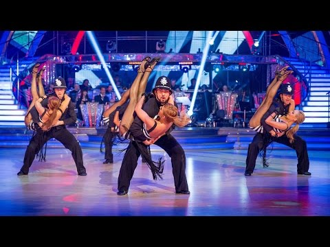 Strictly Pros Dance to 'Rock This Town' - Strictly Come Dancing: 2014 - BBC One