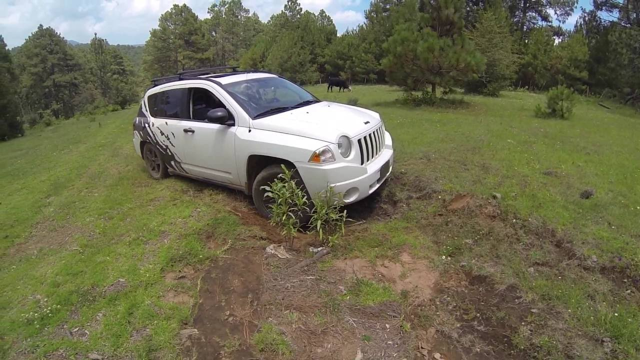 jeep compass limited 4x4 4wd jeep compass in action off road youtube. Black Bedroom Furniture Sets. Home Design Ideas